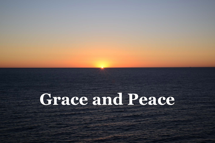 Peace through Grace