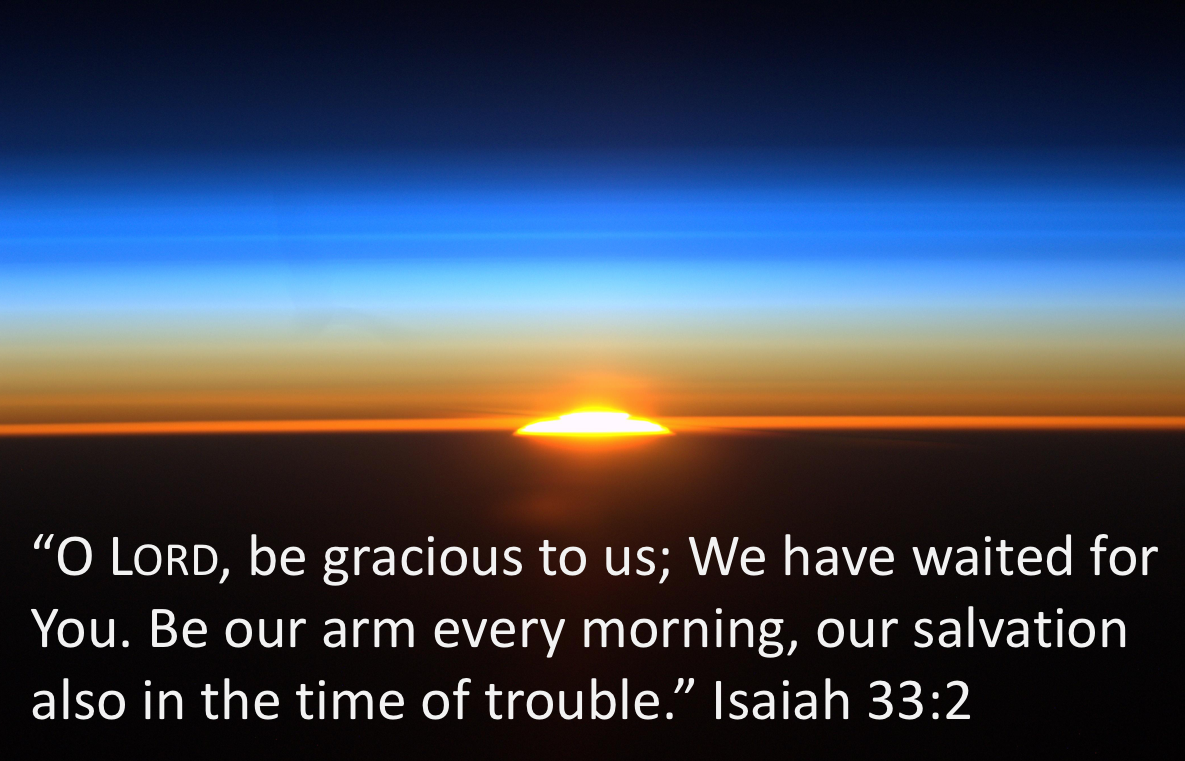 Begin your day with prayer