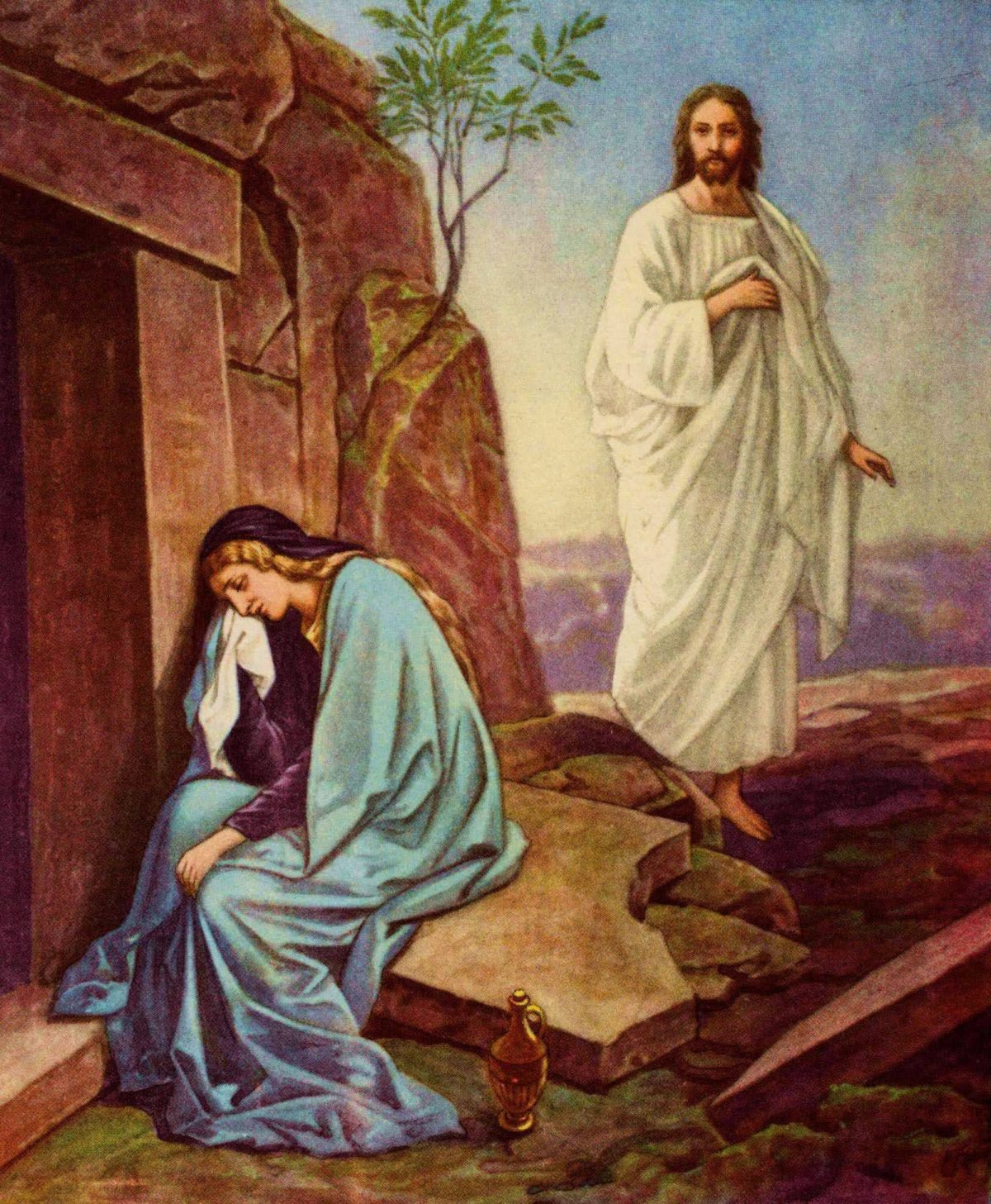 Christ's resurrection provides answers for our hearts