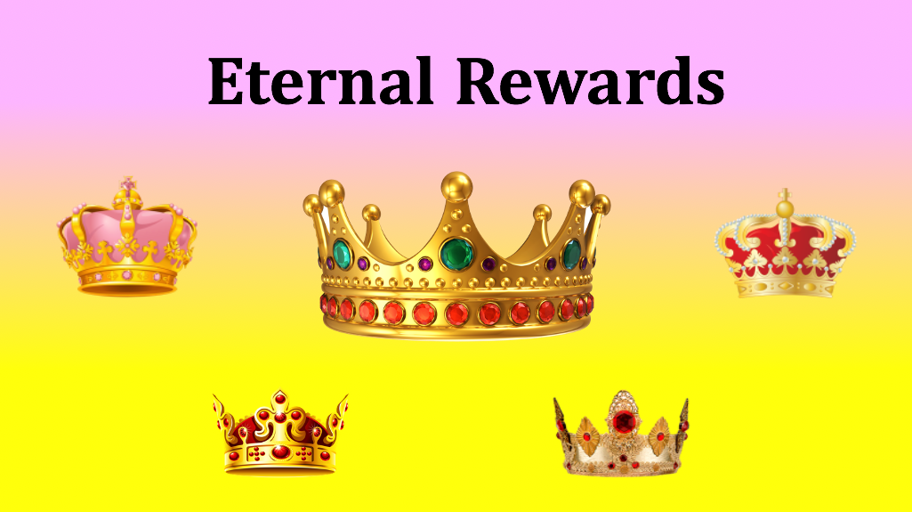 Frequently asked questions about eternal rewards