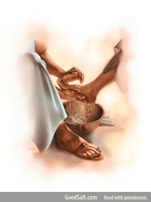 How can we experience the blessedness of clean feet? Part 4