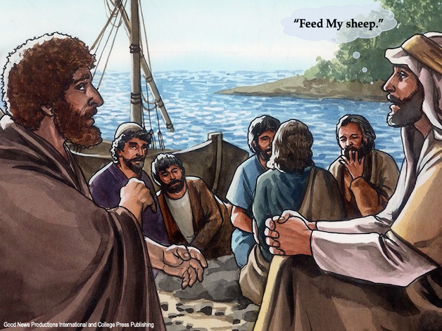 How does the risen Lord Jesus use us to make a difference in peoples' lives after we fail? Part 2
